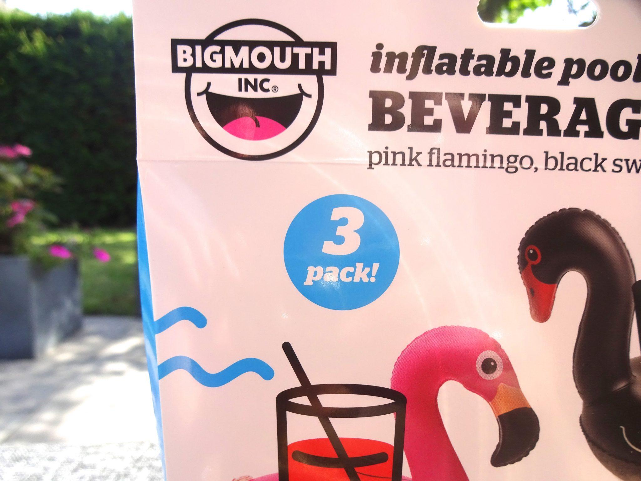 BigMouth Opblaasbare vogel bekerhouders