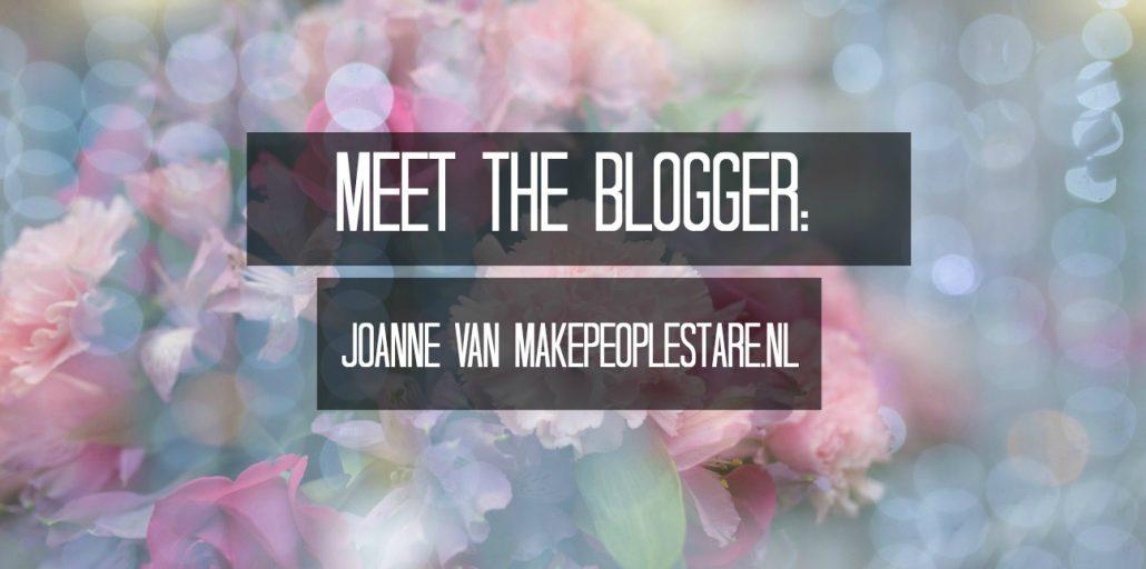 Meet the blogger: Joanne